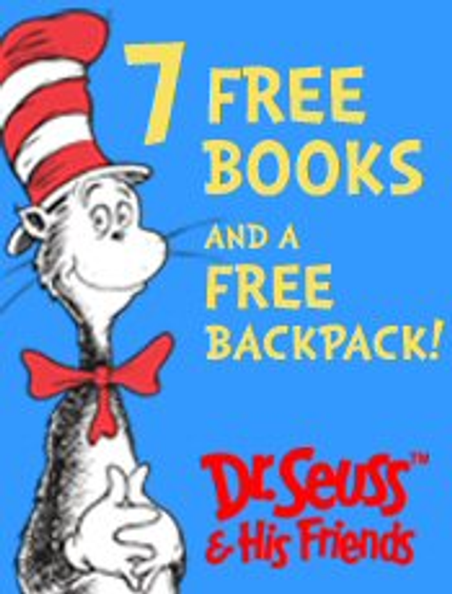 Dr. Seuss's Beginning Readers Program Catalog Cover