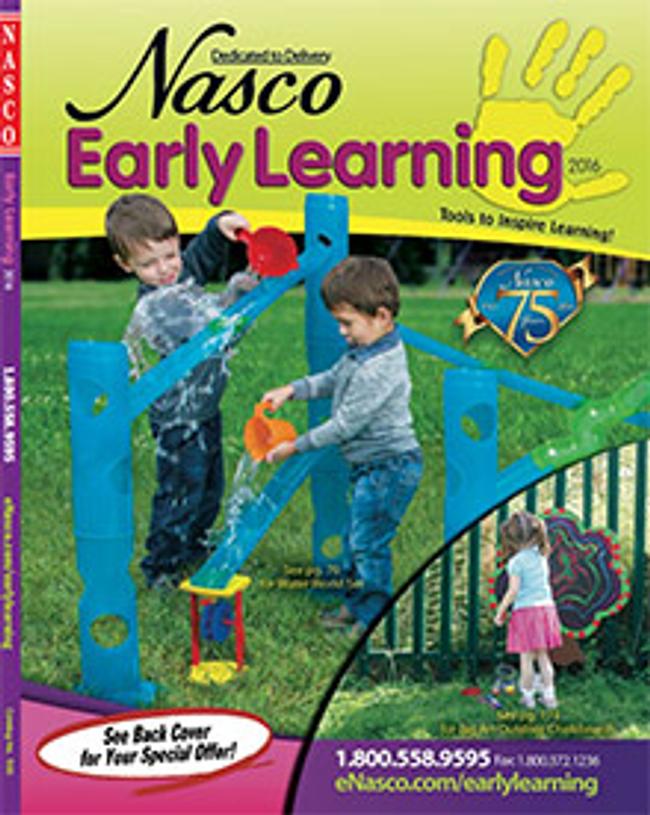 Nasco Early Learning Catalog Cover
