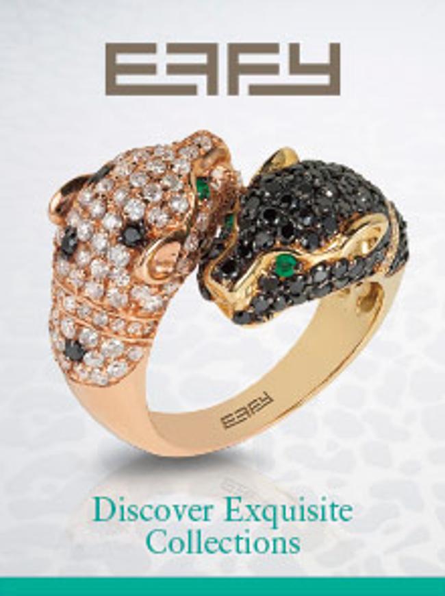 EFFY Jewelry Catalog Cover
