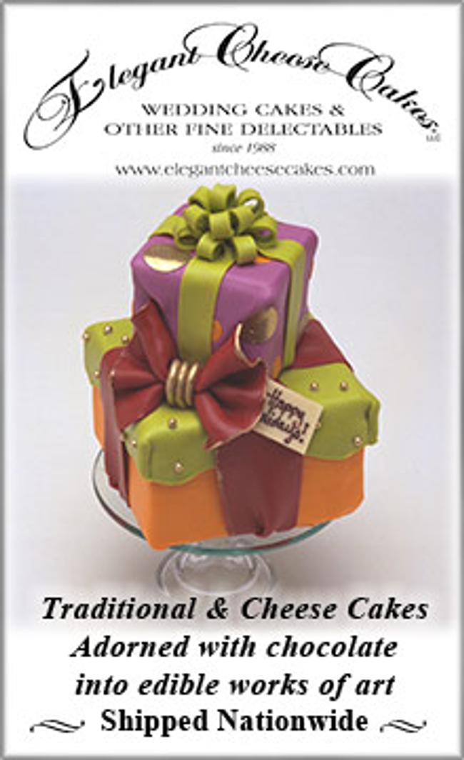 Elegant Cheese Cakes Catalog Cover