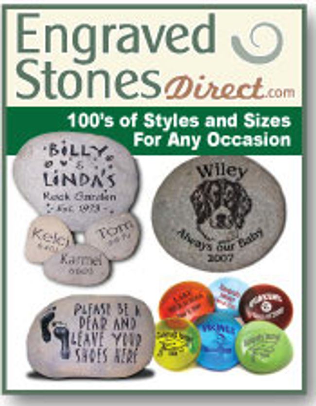 Engraved Stones Direct Catalog Cover