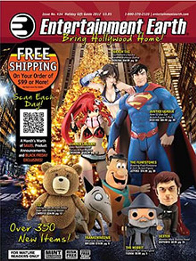Entertainment Earth Catalog Cover