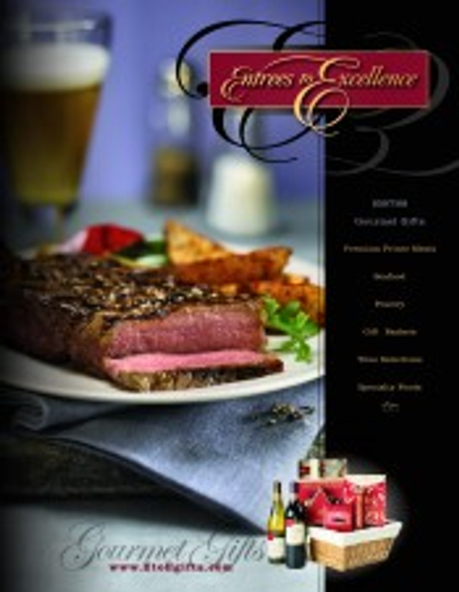 Entrees to Excellence Catalog Cover