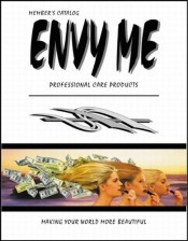 Envy Me Catalog Cover