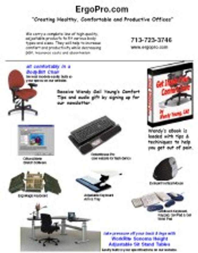 ErgoPro.com Catalog Cover