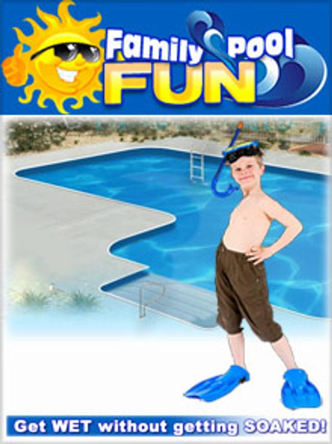 Family Pool Fun Catalog Cover