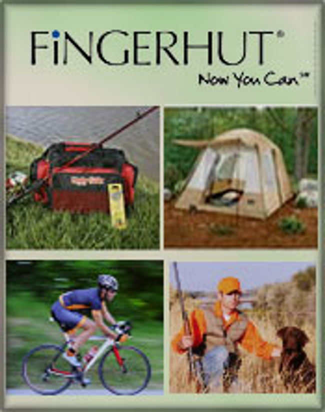 Fingerhut Camping & Fishing Catalog Cover