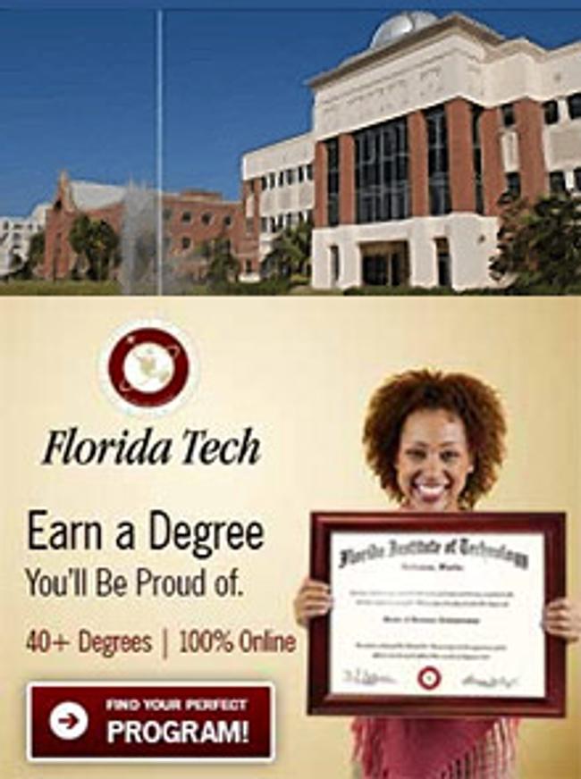 Florida Tech Online  Catalog Cover