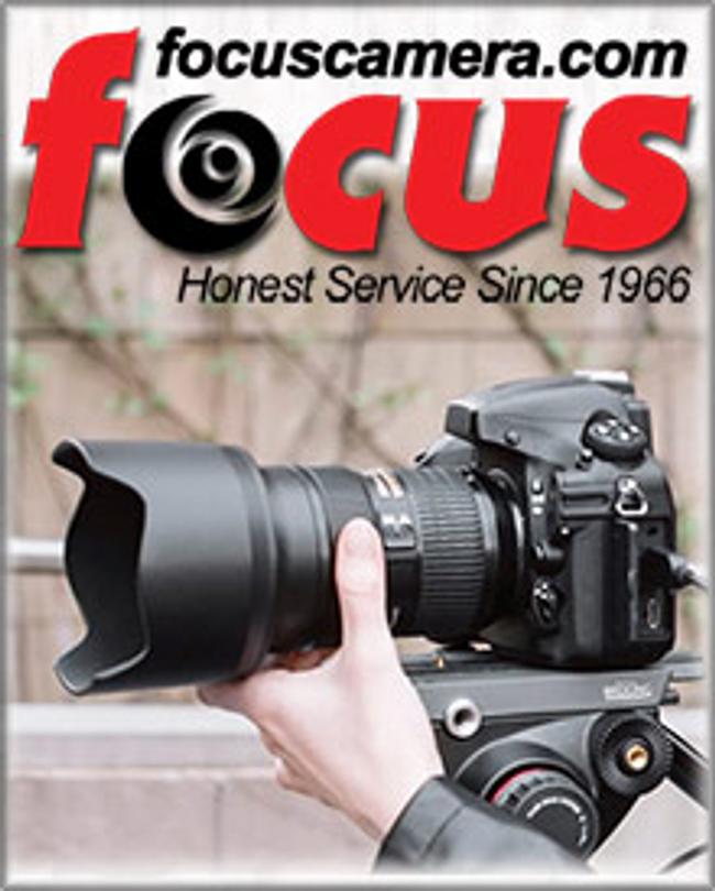 Focus Camera Catalog Cover