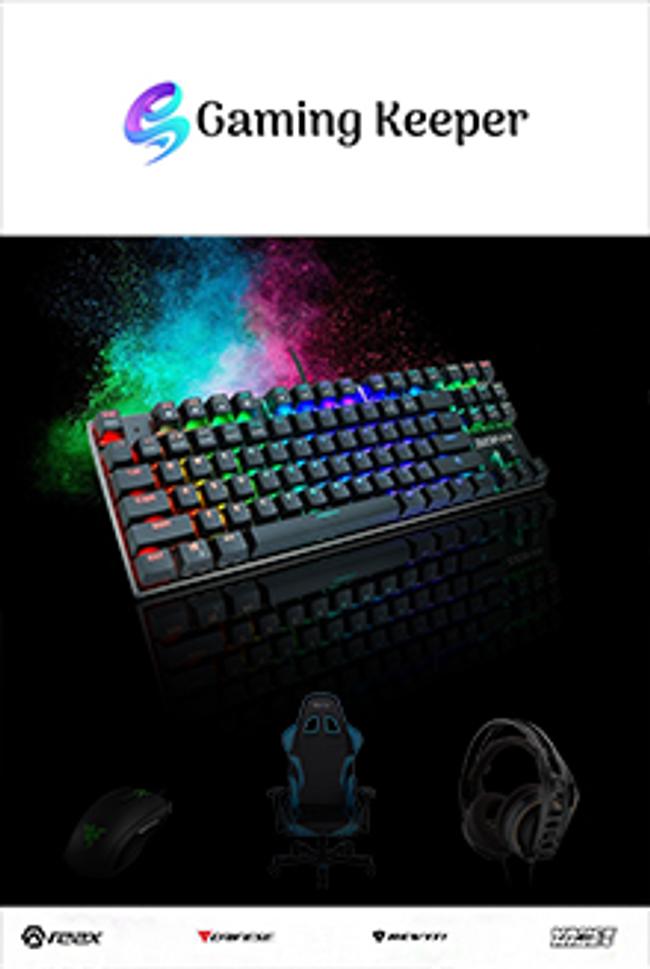 GamingKeeper.com Catalog Cover