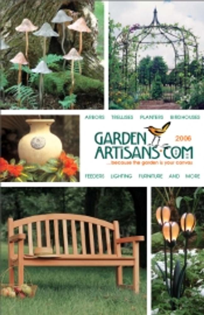 Garden Artisans Catalog Cover