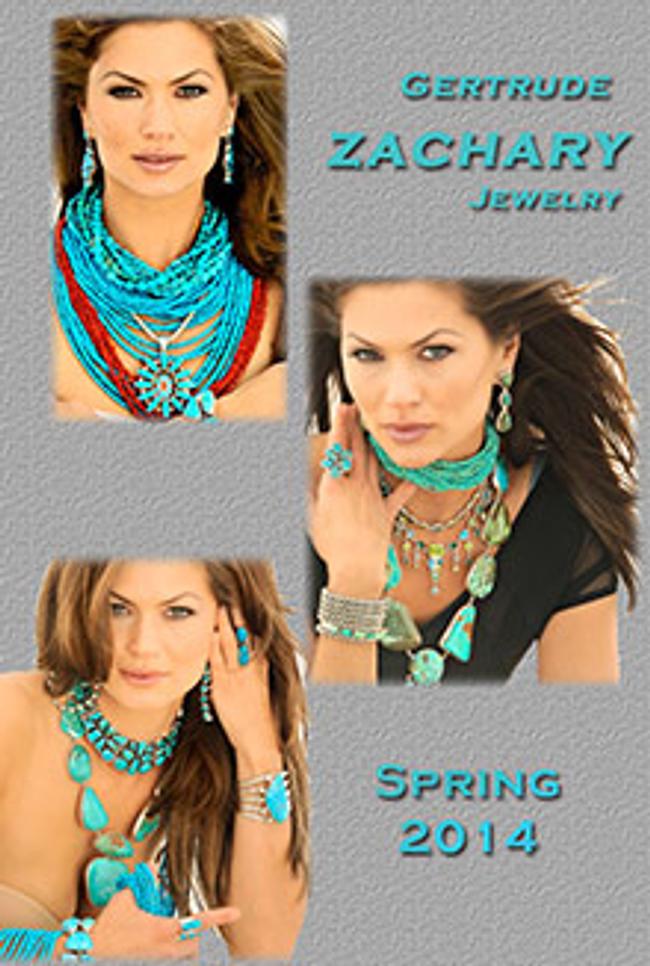 Gertrude Zachary Jewelry  Catalog Cover