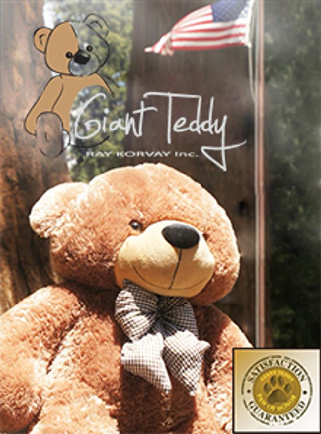 Giant Teddy Catalog Cover