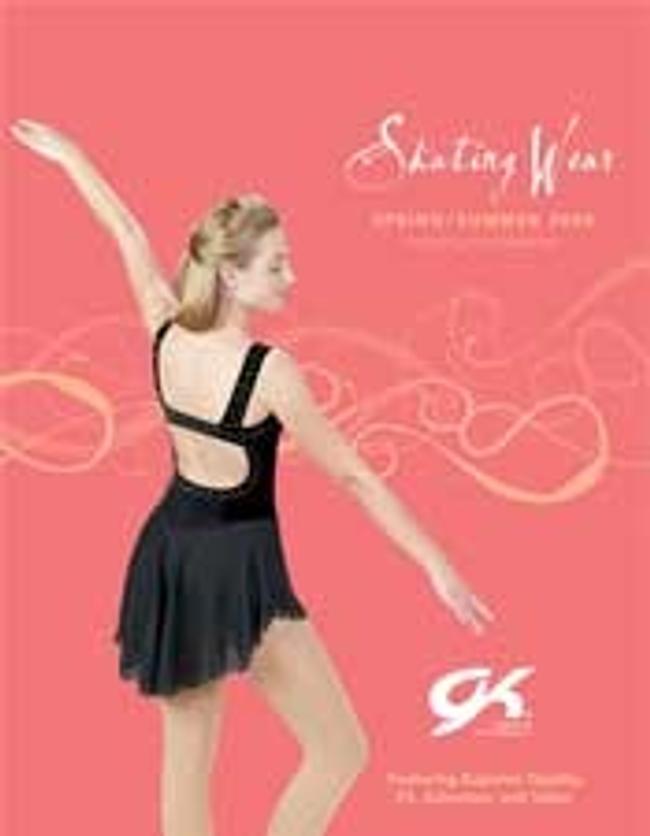 GK Elite Figure Skating Catalog Cover