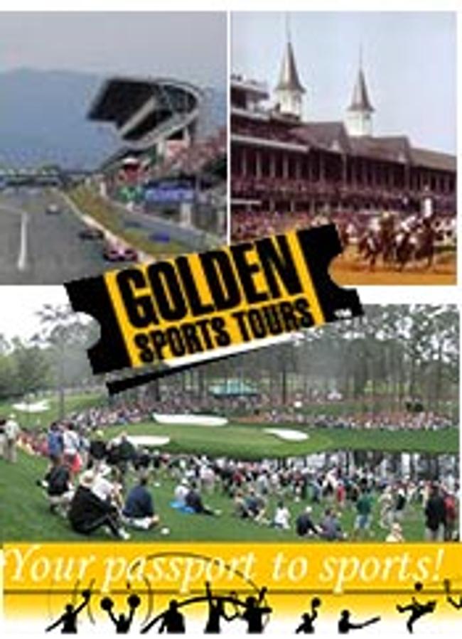 Golden Sports Catalog Cover