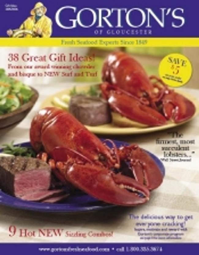 Gorton's of Gloucester Catalog Cover