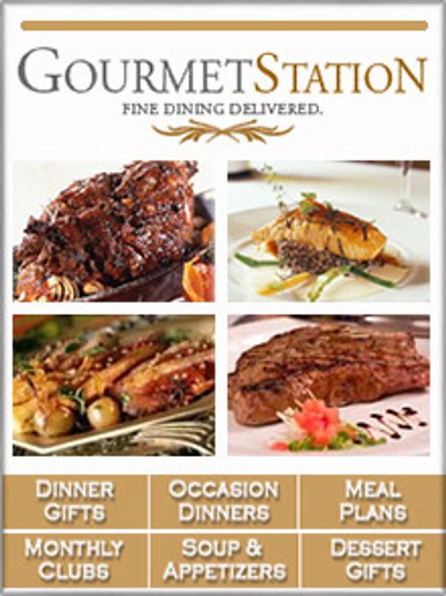 GourmetStation Catalog Cover