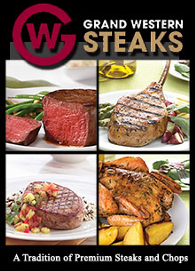 Grand Western Steaks Catalog Cover