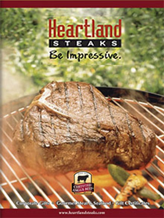 Heartland Steaks Catalog Cover