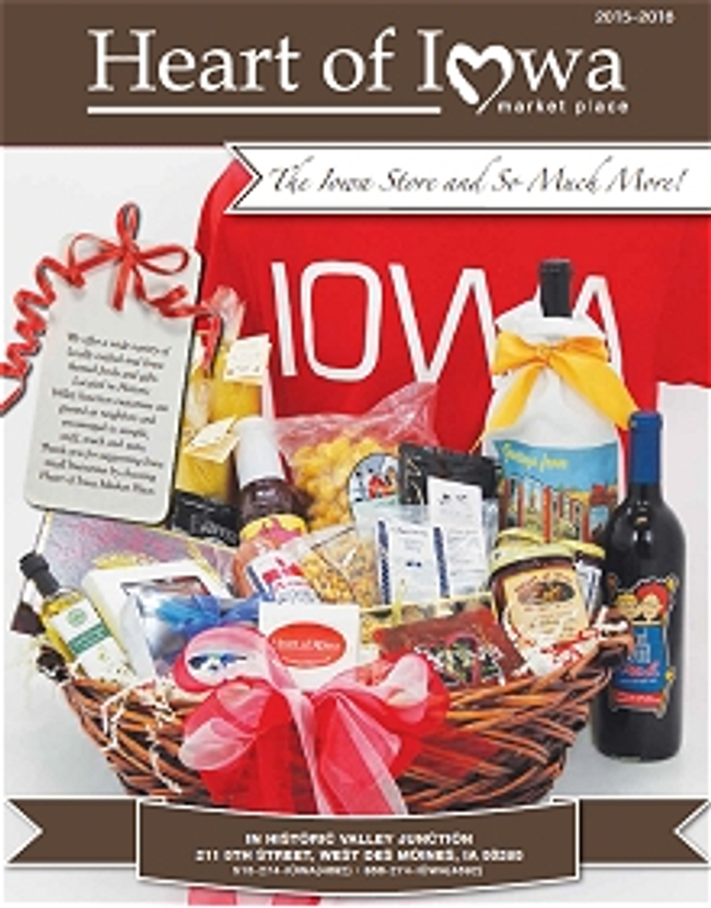 Heart of Iowa Market Place Catalog Cover