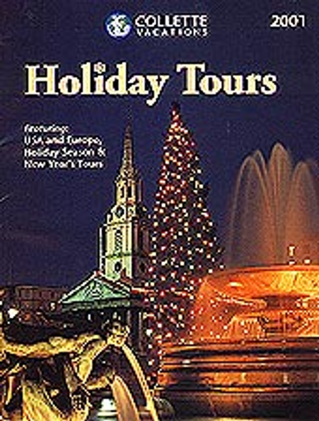 Holiday Tours - Collette Vacations Catalog Cover