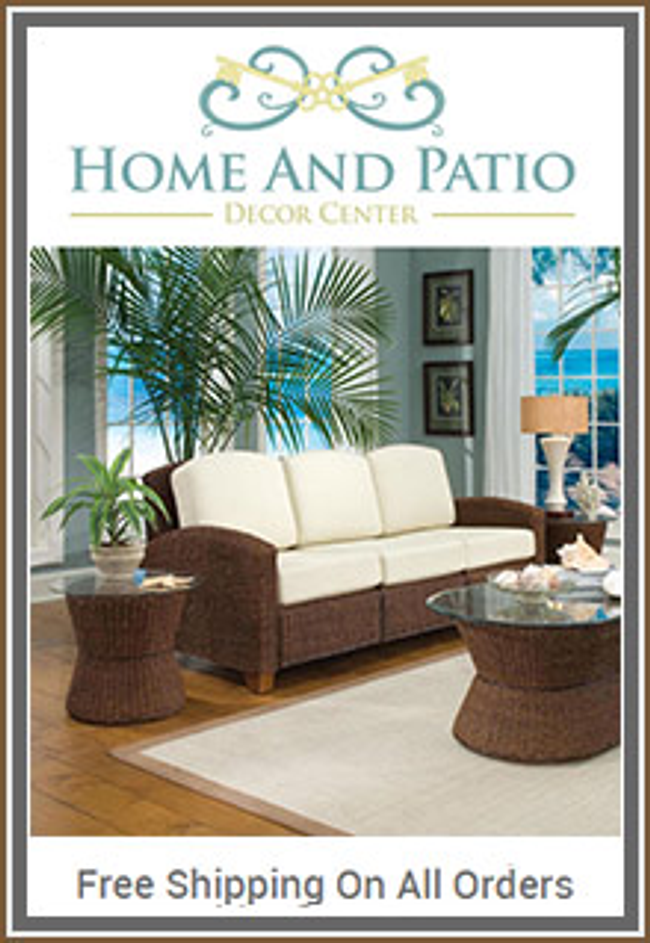 Home and Patio Decor Catalog Cover