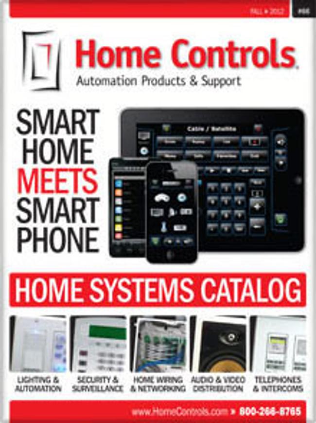 Home Controls Catalog Cover