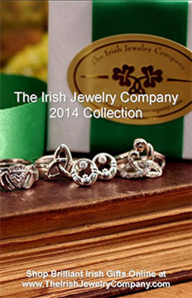 The Irish Jewelry Company Catalog Cover