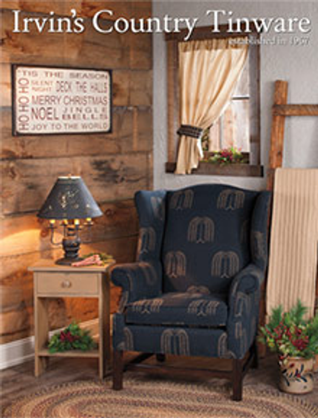 Irvin's Country Tinware Catalog Cover