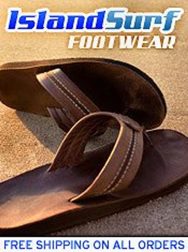 Island Surf Footwear Catalog Cover