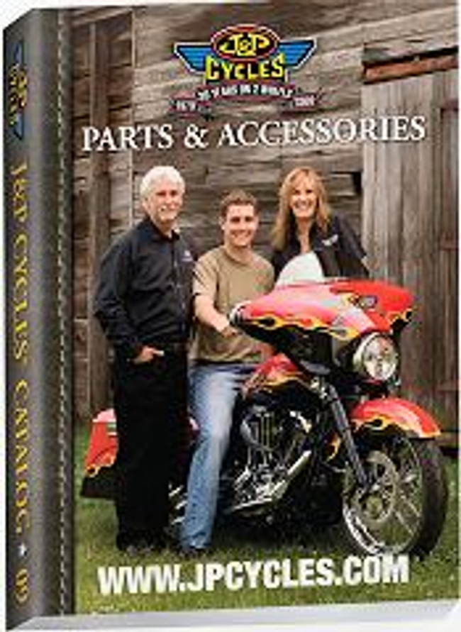 J & P Cycles - Parts for your Harley Davidson Catalog Cover