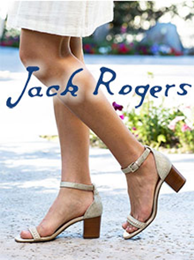 Jack Rogers Catalog Cover
