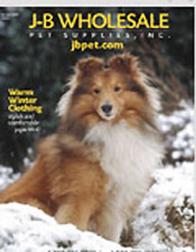 J-B Wholesale Pet Supplies Catalog Cover