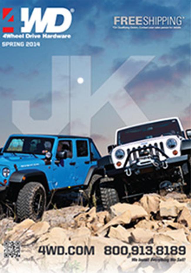 Jeep JK Wrangler Catalog Cover