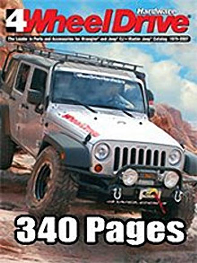 Jeep Wrangler Catalog Cover