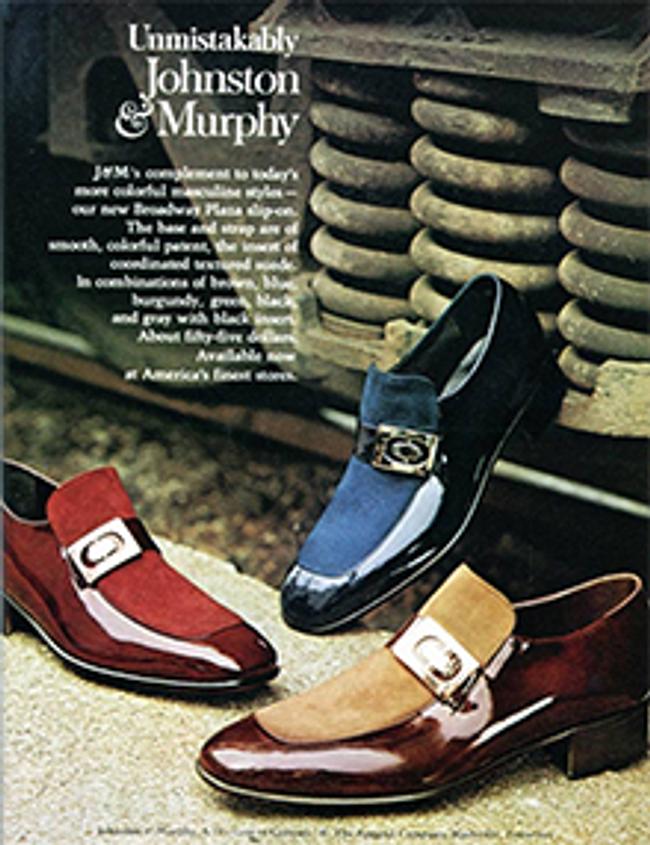 Johnston & Murphy Catalog Cover