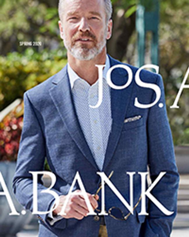 Jos. A. Bank Catalog Cover