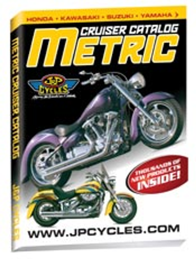J & P Cycles-Metric Cruiser Motorcycle Parts Catalog Cover