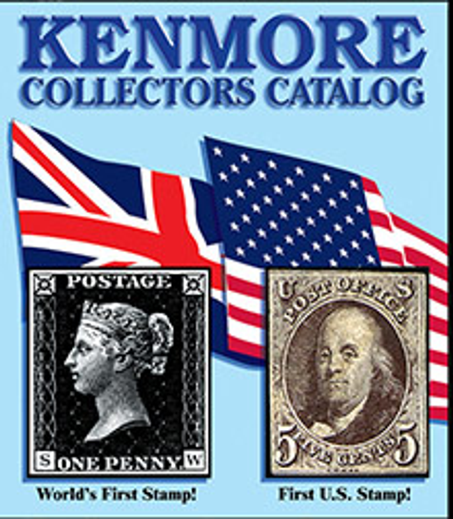 Kenmore Stamp Catalog Cover