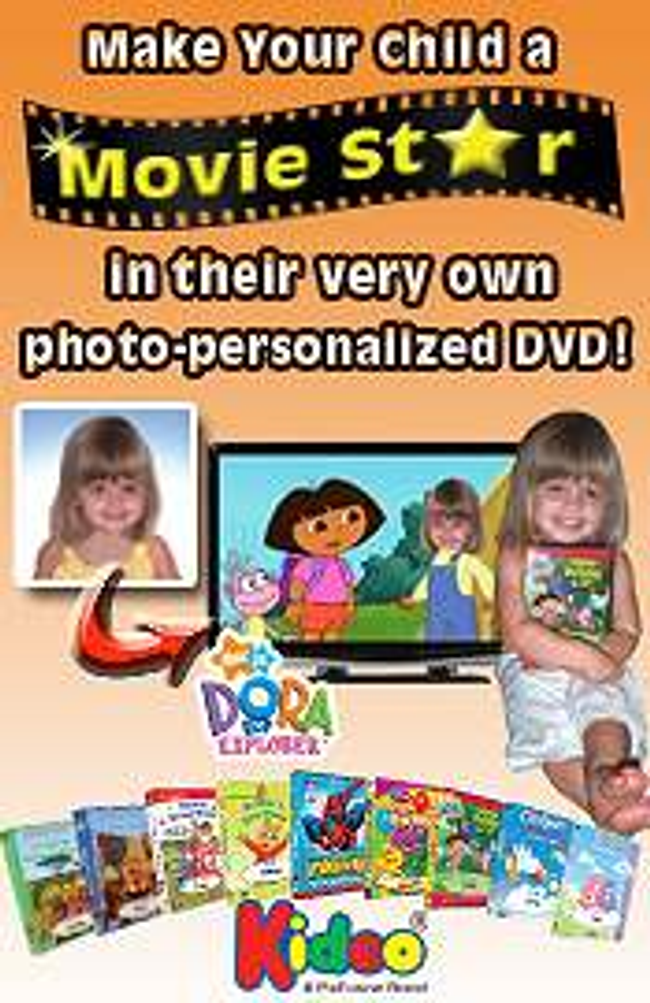 Kideo - Personalized DVDs Catalog Cover