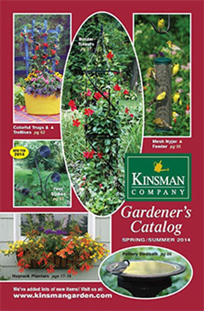 Kinsman Garden Catalog Cover