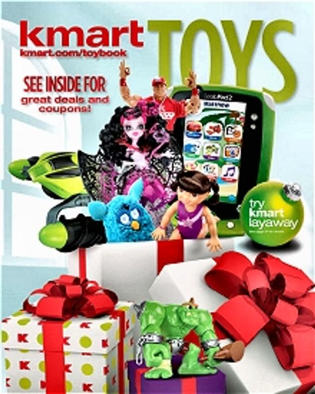 K-Mart Toys Catalog Cover
