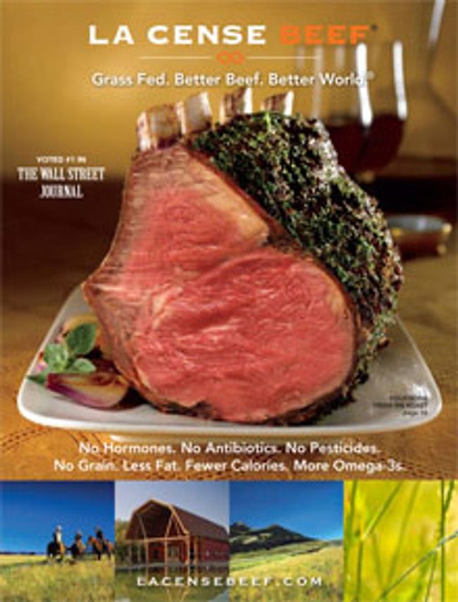 La Cense Beef Catalog Cover