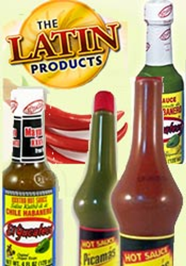 The Latin Products Catalog Cover