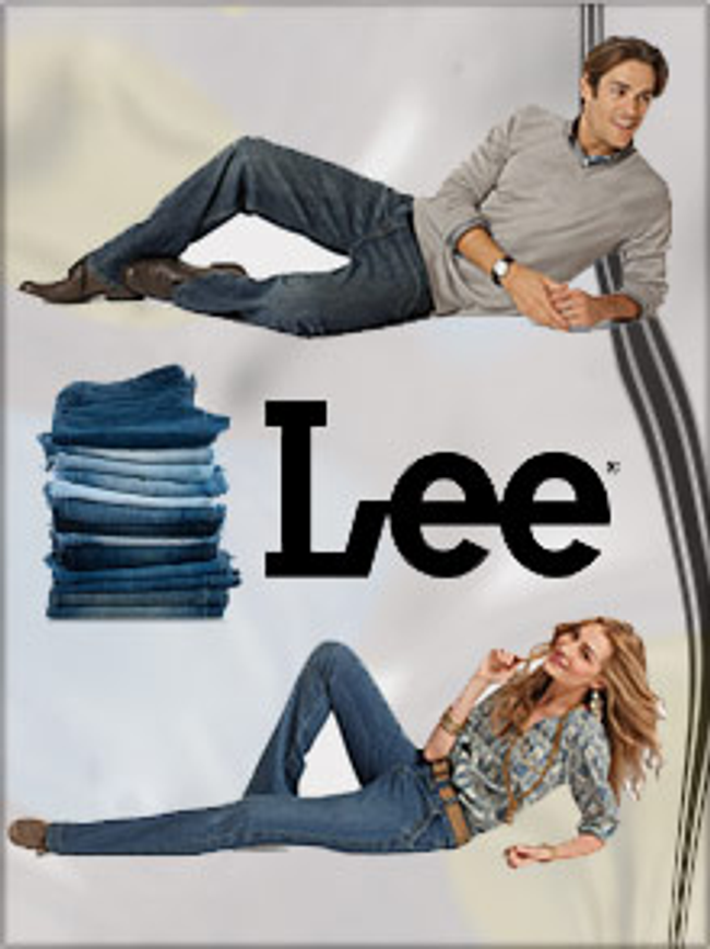 Lee Jeans Catalog Cover