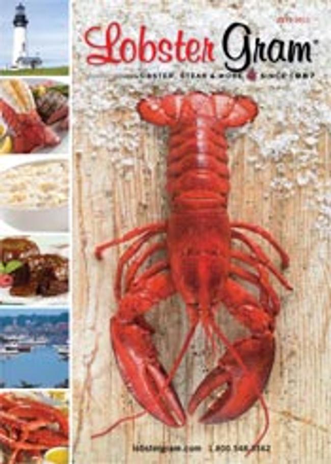Lobster Gram Catalog Cover