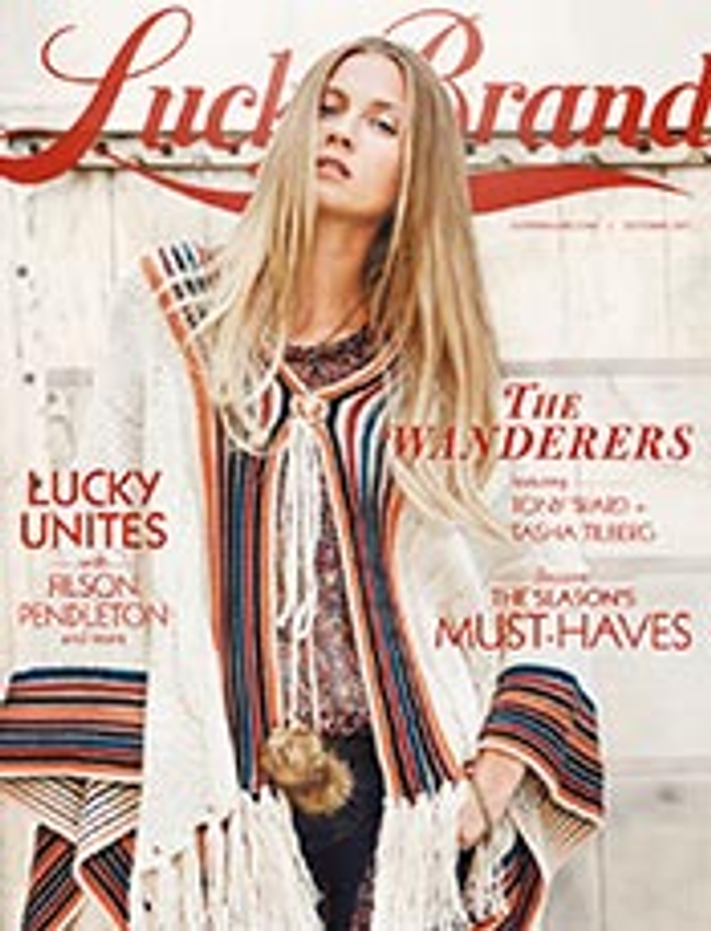 Lucky Brand Catalog Cover