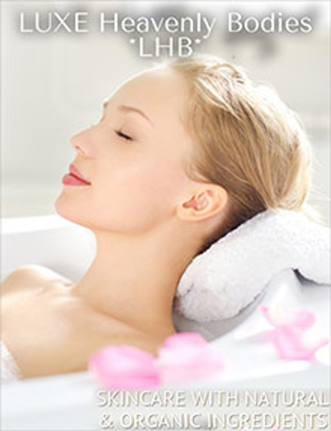 LUXE Heavenly Bodies Catalog Cover