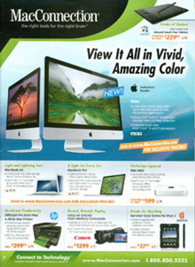 MacConnection Catalog Cover