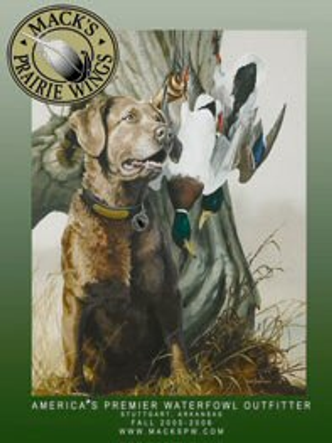 Mack's Prairie Wings Catalog Cover